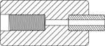 Adapters - Threaded Adapter 5816F-5811M - adapters - Threaded Adapter - Diamond Drill Bits - Alternative - Diamond Core Drill - Alternative - Core Drill Bits - Adapters