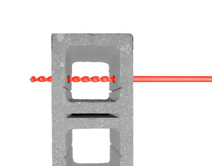 bh series, carbide tipped bell hanger drill bit - step 1