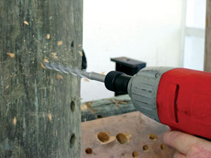 ruffy 2000 - wood augers - wood drill bits - carbide tipped drill bits - framing bits - installer drill bits