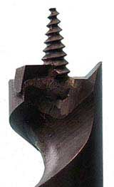 Eliminator self feeding wood auger drill bits - carbide tipped drill bits