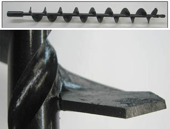 carbide tipped drill bits, earth auger