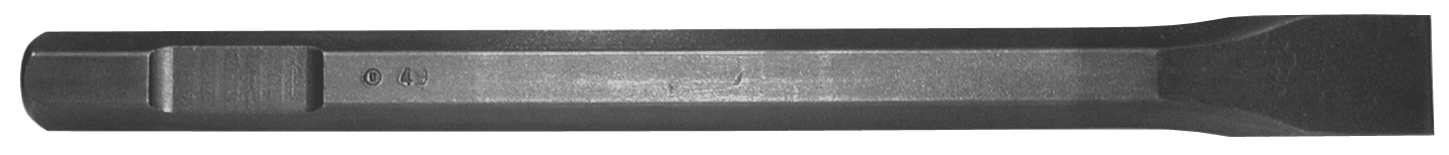 B & A Manufacturiing Company - Hammer Iron - chisel 1 x 12 - 3/4 Hex Drive