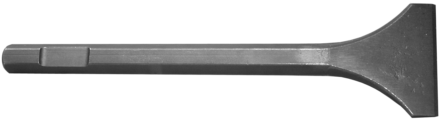 B & A Manufacturiing Company - Hammer Iron - chisel 3 x 12 - 3/4 Hex Drive