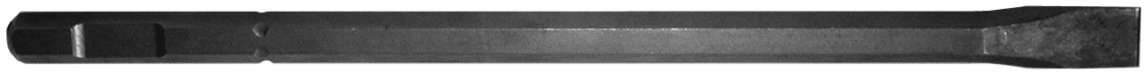B & A Manufacturiing Company - Hammer Iron - chisel 1 x 18 - 3/4 Hex Drive