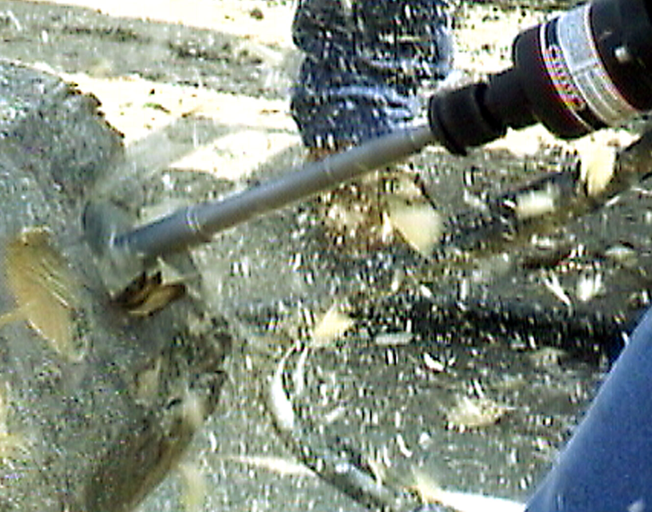 log home counter bore - carbide tipped drill bits - wood drill bits