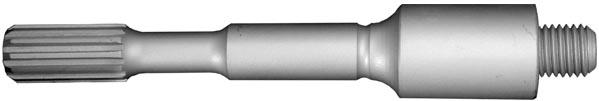 percussion core adapter spline drive