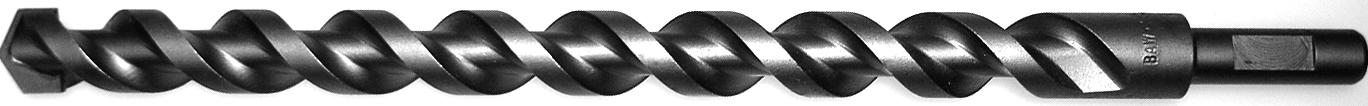 Turf Drills - Turf Drill Bits - Turf Bits - TDS Series - Square Flute